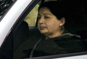 Jayalalithaa's court appearance over, heads back to Chennai