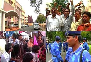 No salary during festive season for striking Telangana employees