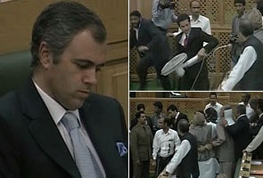 J&K Assembly: Amid chaos over custodial death, Opposition MLA throws fan