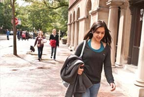 Squeezed out in India, students turn to US