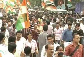 Congress holds silent rally in Kolkata against Trinamool