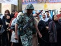 Long lines form as Egyptians vote in historic election