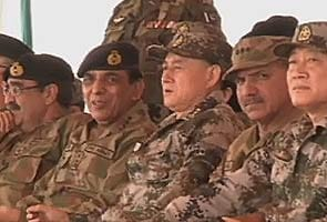 Pakistan and China hold joint military exercises