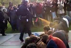 Occupy Wall Street: Pepper spray video sparks outrage