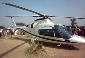 Ashok Gehlot's chopper makes emergency landing