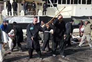 60 killed in rare attacks on Afghan Shiites