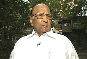 Wasn't invited to Lokpal debate: Sharad Pawar