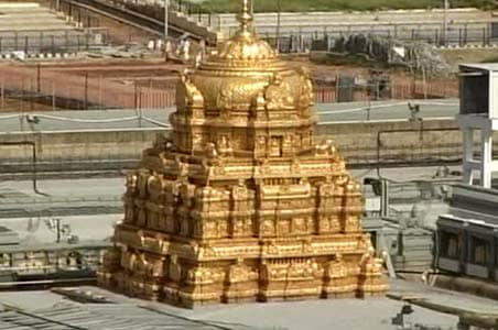 Balaji temple nets Rs 1,700 crore income