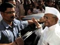 Anna Hazare discharged from hospital in Pune
