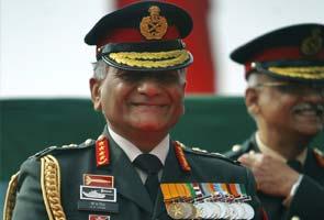 Army chief General VK Singh denied permission to travel to Israel