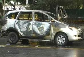 Israel embassy car blast: Red bike used in 'sticky bomb' attack found?