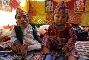 At 22 inches, this Nepal man could just be the 'world's shortest man'