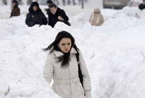 Europe struggles under record cold snap