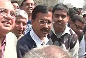UP polls: When Team Anna member Arvind Kejriwal was reminded to vote