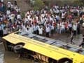 14 children feared dead as Andhra school bus falls into canal