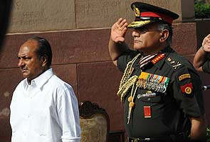Months of acrimony for army chief and the government