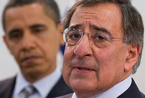 Vehicle bursts into flames on runway as Panetta arrives in Afghanistan