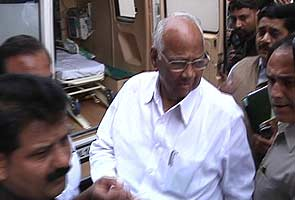 Sharad Pawar faints in Lok Sabha, discharged from hospital