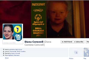 Facebook bans woman for photos of son with Down's syndrome