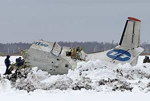 Plane with 43 people on board crashes in Siberia; 31 killed