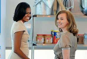 The tips Michelle Obama gave new French first lady