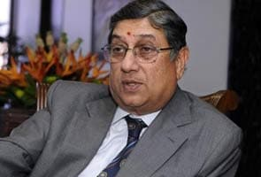 Who is N Srinivasan?