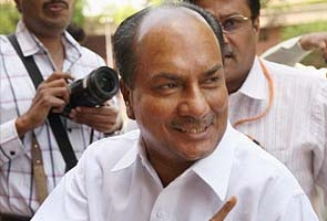 Antony submits Congress poll debacle report; recommends action against those responsible for defeat, say sources
