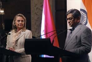Highlights: SM Krishna-Hillary Clinton address joint presser