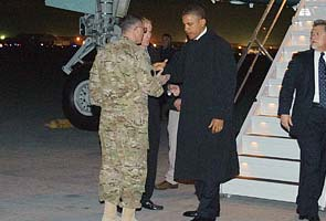 Obama in Afghanistan on anniversary of Osama bin Laden's death
