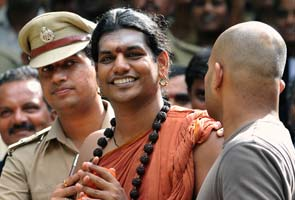 Nithyananda to take voice test in sex video case