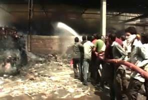 Major fire at Amritsar paper mill