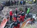 Bus crashes off bridge in South Africa, kills 19