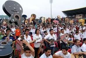 Assam guitarists create record for the largest ensemble
