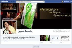 Mamata Banerjee launches Facebook page, says APJ Abdul Kalam is the choice of millions