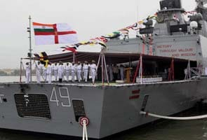 Stealth warship 'INS Sahyadri' commissioned