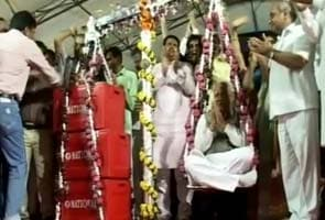 Gujarat minister weighed in blood
