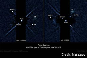 Hubble discovers fifth and tiniest Pluto moon