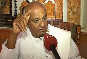 Caste-based politics has to end in Karnataka: Deve Gowda