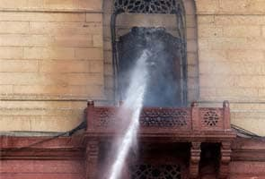 Home ministry fire was caused by cigarette stub, reveals RTI
