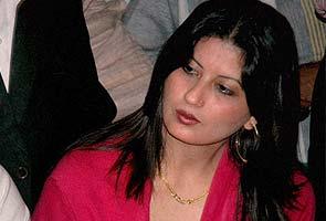 Anuradha Bali alias Fiza, wife of former Haryana Deputy Chief