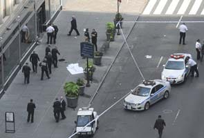 Video shows shooting outside Empire State Building