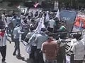 Telangana march in Hyderabad, tension at Osmania University