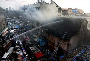 Fire near Manish market in Mumbai; one fireman injured
