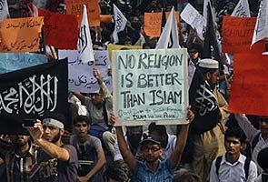 Anti-Islam film row: Pakistani minister announces bounty on the filmmaker