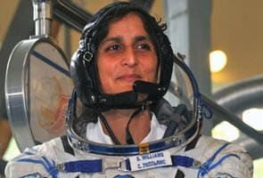 Sunita Williams finishes triathlon in space