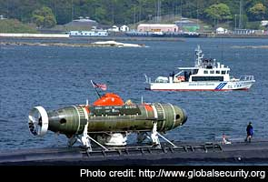Rescuing a submarine and its sailors: India practices with US help