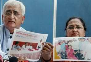 Salman Khurshid's wife files defamation suit; Delhi High Court issues notice to TV Today, 13 others