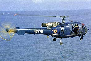 Indian Navy helicopter crashes in Goa, three people including both pilots killed