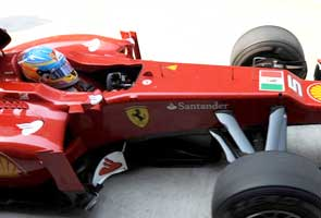 Govt objects to Ferrari's flag support for arrested Italian marines