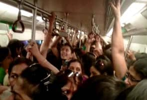 Men found in women-only coaches of Delhi Metro fined Rs 32 lakhs